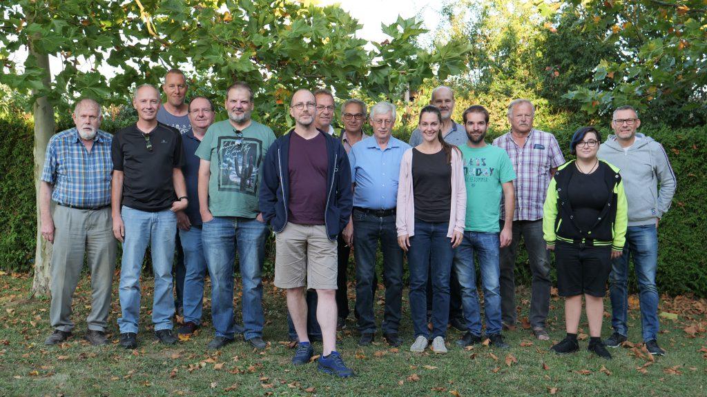 Teilnehmer, Gäste und Organisatoren beim 7. Lückenbuschblitzschachturnier