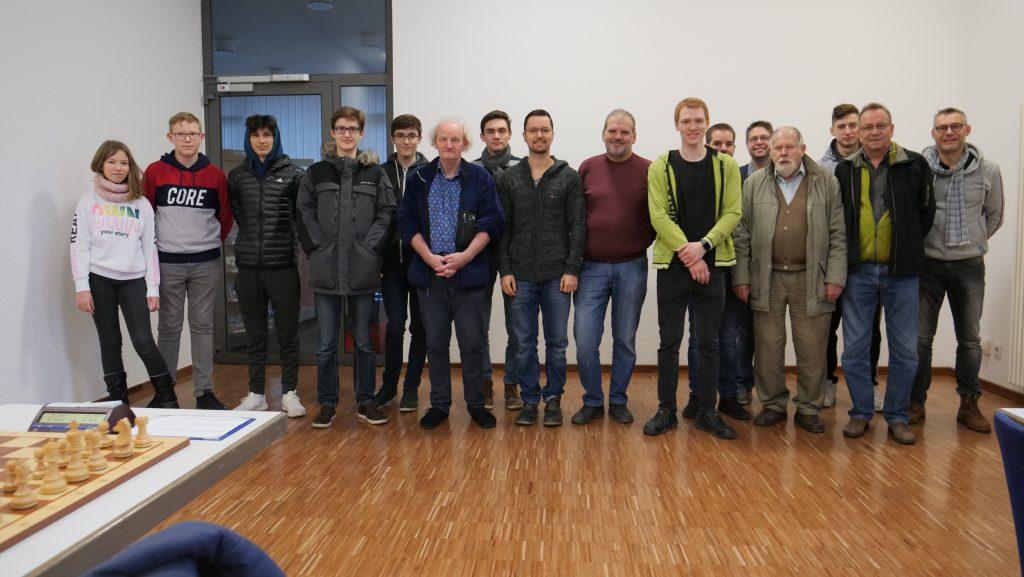 Am Sonntag, 12. Januar 2020 spielten gleich drei Mannschaften des Schachklubs in Mühlhausen im Bürgerhaus.